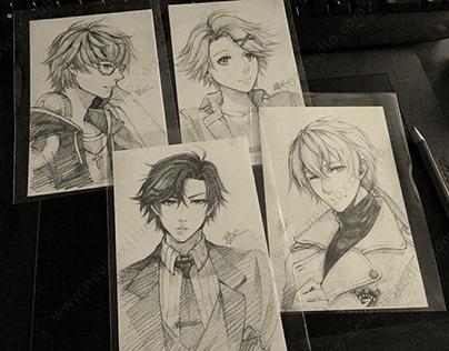 Commission drawing / painting 人像电绘/手绘