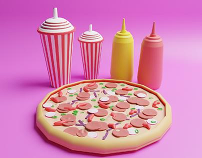 Food (Pizza Burger Tacos Sandwich)