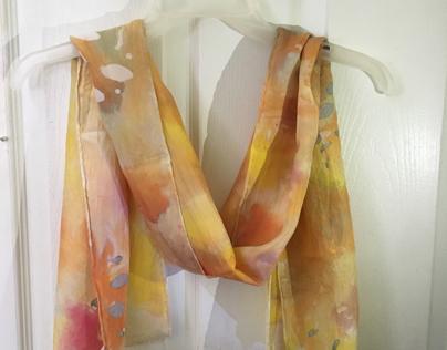 Silk Scarf Painting