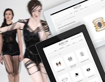 Bliss Lau | Custom Shopify Website