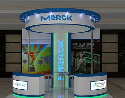 Merck Booth
