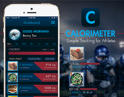 Calorimeter mobile application prototype