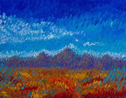 """""""Arizona Landscape I"""""""