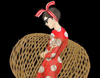 米奇米妮大人感 插畫系列