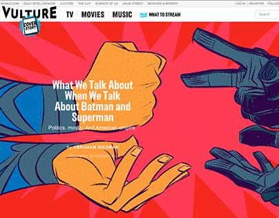 BATMAN vs SUPERMAN / Vulture.com (NY Magazine)