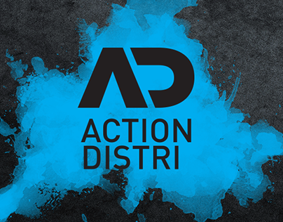 Action Distri Brand Identity