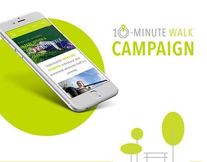 Trust For Public Land: 10 Minute Walk Campaign