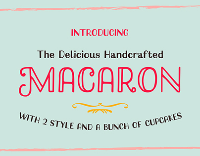 Macaron Handcrafted Typeface