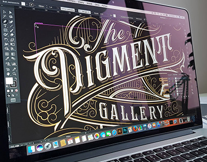 Work in progress: type & logo designs 2017 update