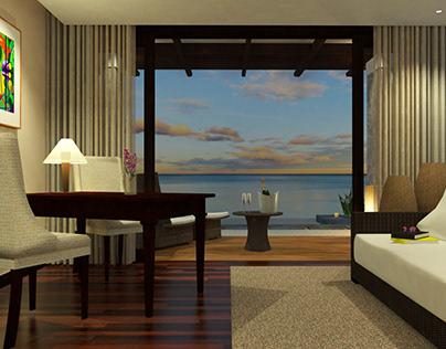 Tropical Island Luxury Resort (Deluxe Suite)