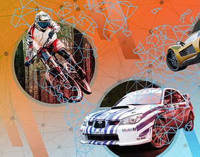 Sport Shop header / Sport Shop - grafika główna
