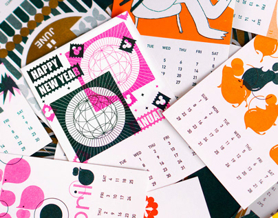 2020 Calendar by Work&Chips