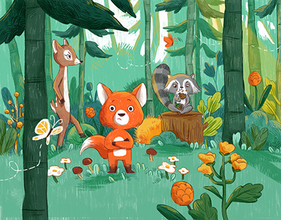 The Friendly Forest - Children's Picture Book