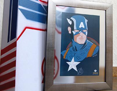 Packaging the First Avenger: Captain America