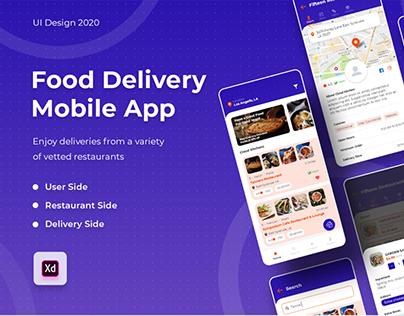 Food Delivery App UI/UX Design