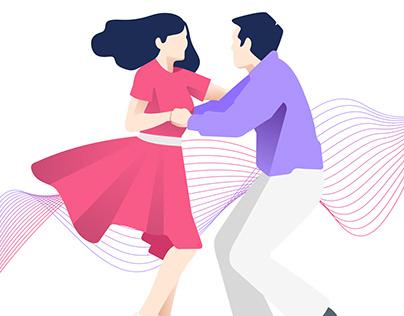Let's Dance Illustration