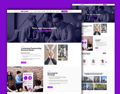 Investment Website UI