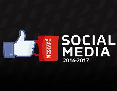 Nescafe Social Media 2017