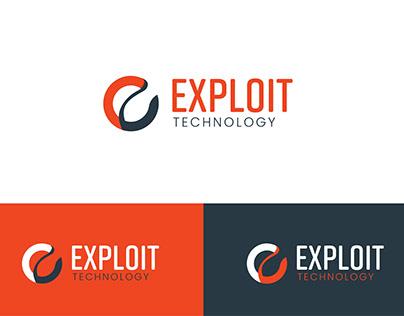 Exploit Technology Logo Design