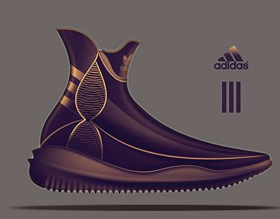 Adidas tennis shoe design project (2018)