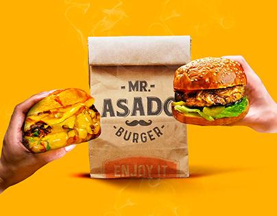 Mr. Asado Burger / Social Media