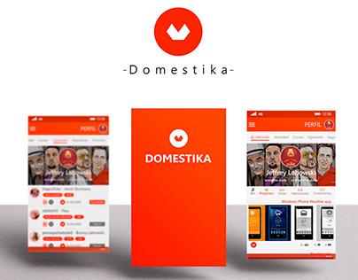 Domestika: concept app