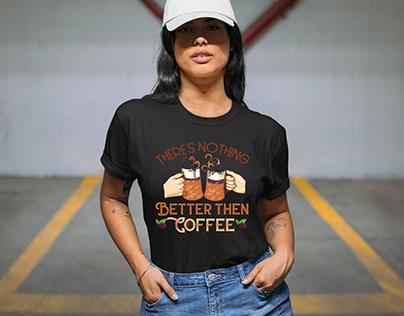 International Coffee Day T-shirt Design