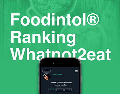 Foodintol® Ranking Whatnot2eat App