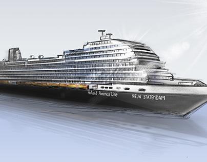Holland America Line - Storyboard