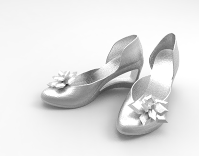 Cinderella Wedding Shoe