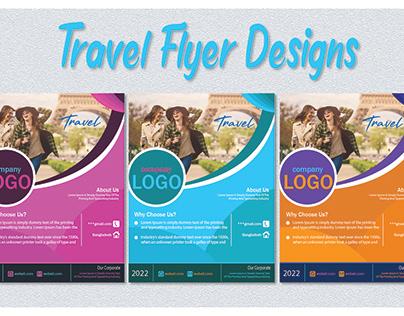 Travel Flyer designs