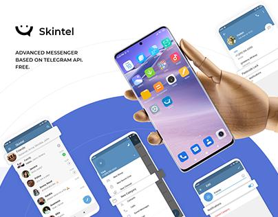 Skintel. Mobile app - Messanger. Based on Telegram