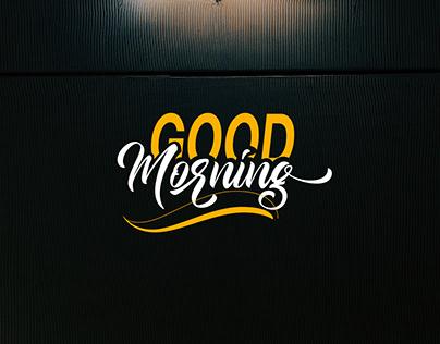 Free Good Morning Script Font