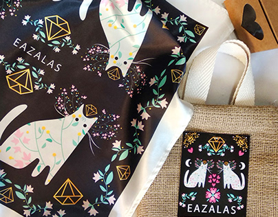 Textile illustration - Illustración textil