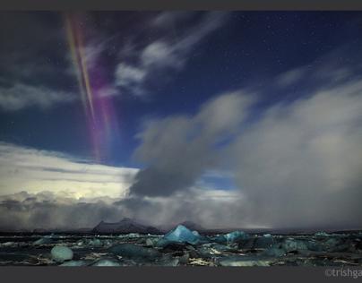 Northern Lights at Vatnajokull
