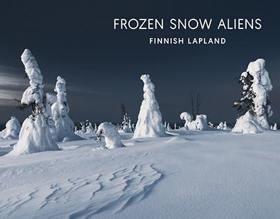 Frozen Snow Aliens // Finnish Lapland