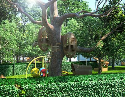 Sultan Park Concept Renders