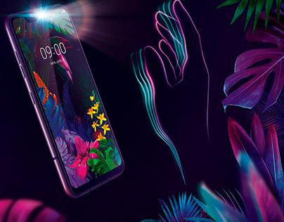 LG G8 . Air Motion