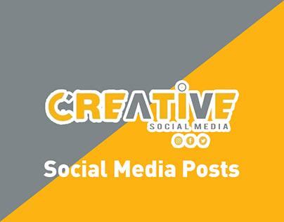 Creative social media - Social Media Posts