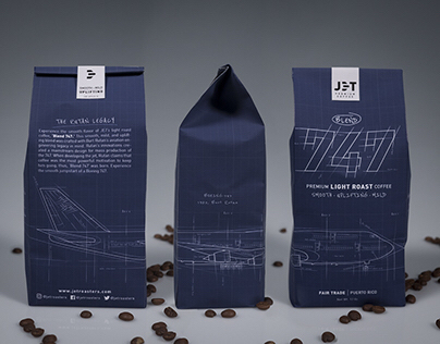 JET | Coffee Bag Packaging