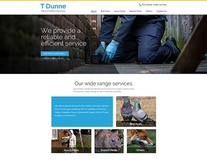 Website Design for UK based Home service Company