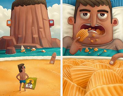 Corona-Illustrations #3