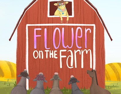 Flower on the Farm (children Book) 2020