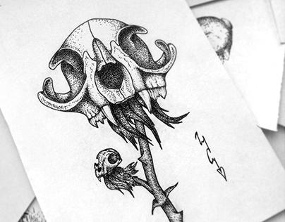Dotwork sketches
