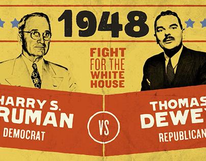 CNN Race to the White House: Truman vs Dewey