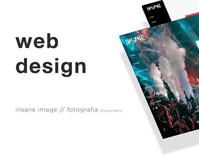 Web Design - Insane Image