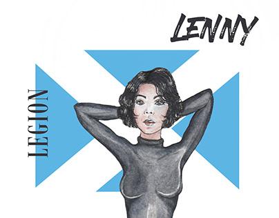 LEGION LENNY // Watercolor Sketch