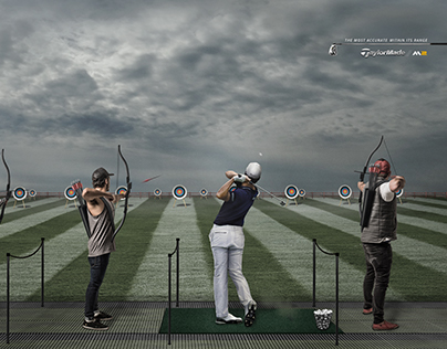 TAYLORMADE GOLF   student work
