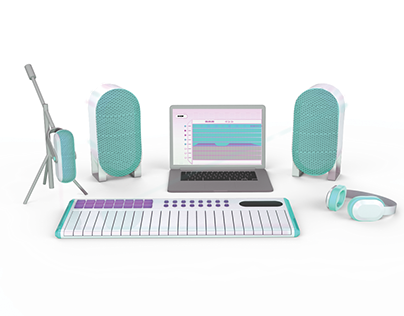 Easy Audio Production Kit -Visual Brand Language