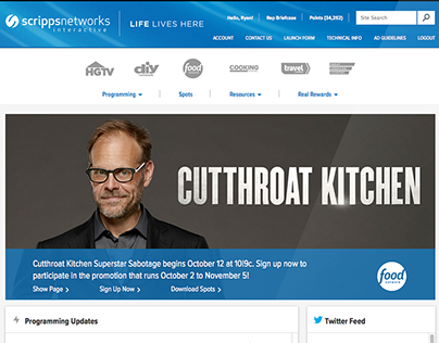 Scripps Networks Interactive Partner Site